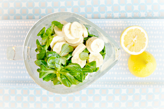 grüner smothie auf vorrat - mit rezept | green smoothie for storage - with recipe | luziapimpinella.com