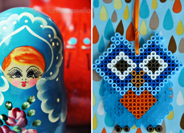 luzia pimpinella BLOG | DIY | gute laune deko: selbstgemachte eulen-anhänger aus bügelperlen | happy home docor: handmade owl ornaments made of hama ironing beads