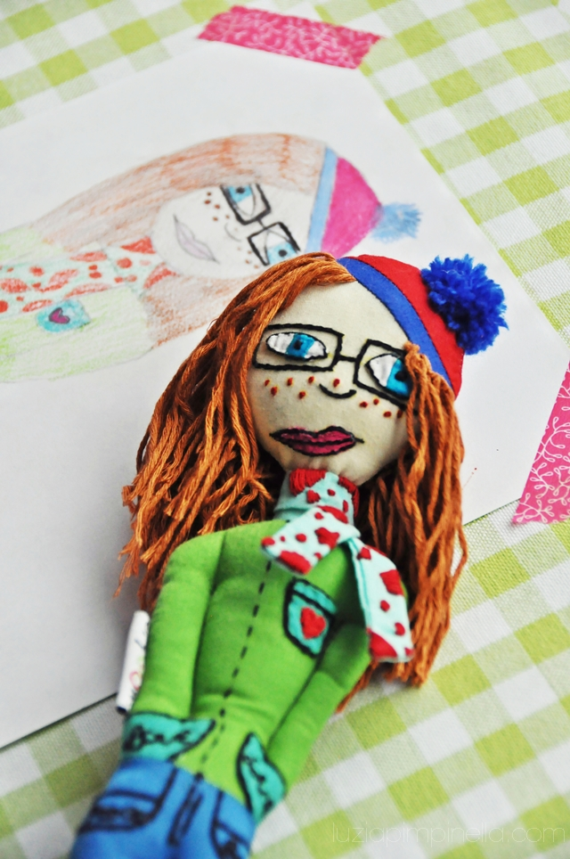 luzia pimpinella BLOG | handgemachte mini mami puppe von cryoow | handmade mini mommy doll from cryoow