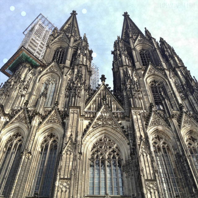 luzia pimpinella BLOG | luzia pimpinella BLOG | wochenend-trip köln: instagram foto kölner dom | weekenk trip to cologne: instagram photo of the cologne cathedral