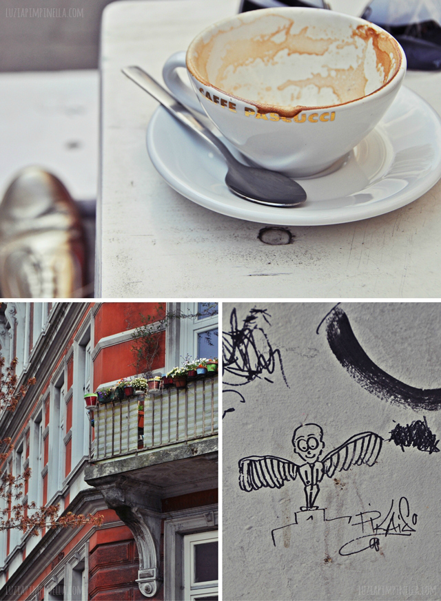 luzia pimpinella BLOG | stamstags-kaffee im karoviertel | saturday coffe at the karolinenviertel
