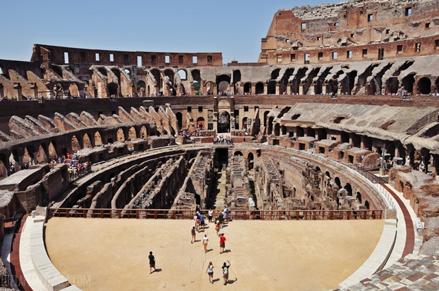 luzia pimpinella BLOG | travel tuesday | die arena des  colosseum in rom  | the arena of the colosseum in rome
