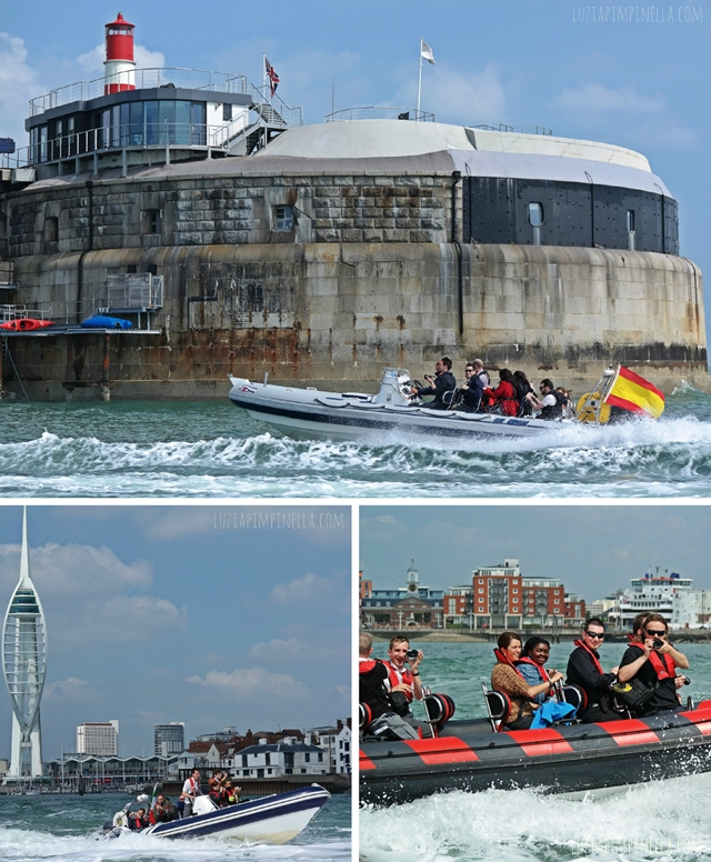 luzia pimpinella blog | fotografieren beim speed rib boot trip in portsmouth, england | shooting pictures on a speed rib boat trip in portsmouth, UK