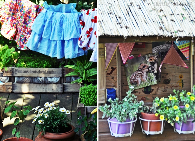 luzia pimpinella BLOG | family life | 80er verkleidungsparty im gartenhäuschen |80s dress up party at our little garden hou