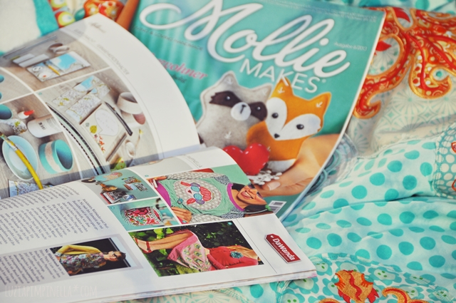 luzia pimpinella BLOG | pimpinellisches  fernweh DIY und portrait im der deutschen ausgabe des MOLLIE MAKES magazins | pimpinellish wanderlust DIY and portrait in the latest issue of the german MOLLIE MAKES magazine