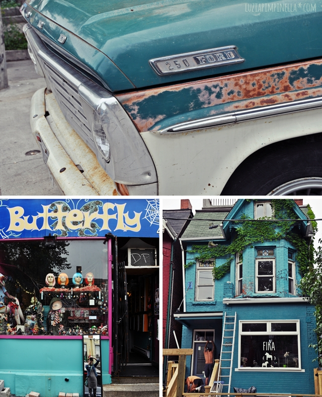 luzia pimpinella BLOG | travel tuesday | toronto |  kensington market neigborhood