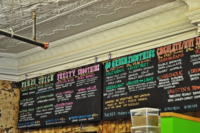 luzia pimpinella blog | travel portland maine |smoothies public market house