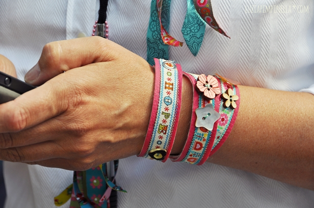 luiza pimpinella blog |DIY wickel-armbänder | DIY wrist bands