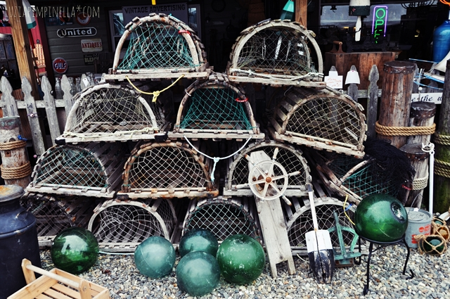 luzia pimpinella | travel new england | maine | vintage & antique sales along the way