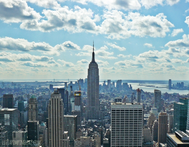 luzia pimpinella| travel | new york | beste aussicht: top of the rocks vs. empire state building
