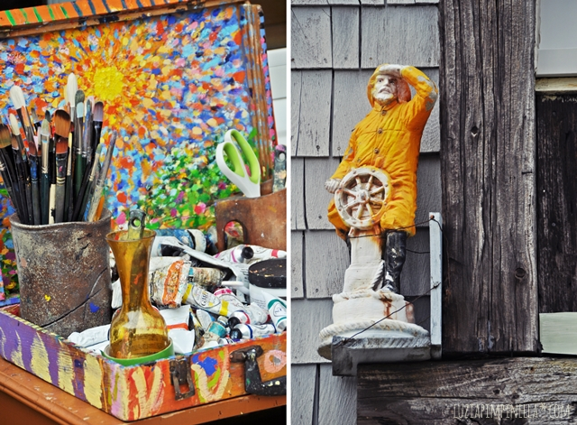 luzia pimpinella | reise: kunst galerien am bearskin neck, rockport | travel: art galleries at bearskin neck; rockport