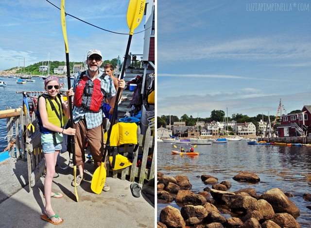 luzia pimpinella | reise: kayak fahren in rockport, cape ann | travel: kayaking in rockport, cape ann