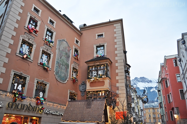 luzia pimpinella | travel innsbruck| weihnachten in der historischen altstadt | christmas in the historic center