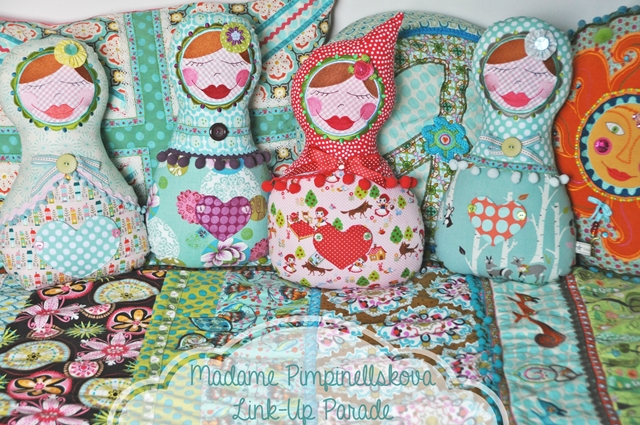 luziapimpinella | DIY eBook Madame Pimpinellskova | Matruschka Puppen Link-Up