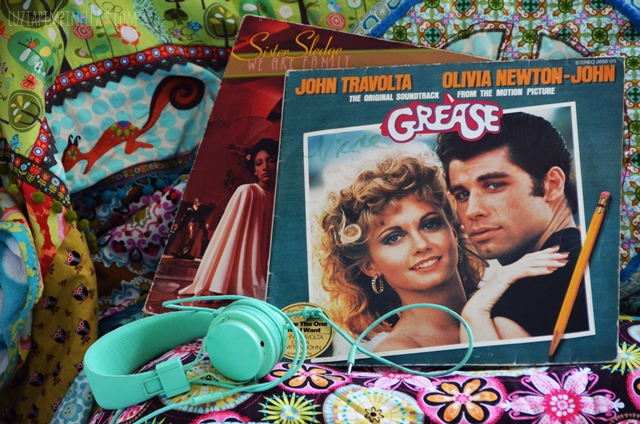 luzia pimpinella | vintage GREASE album