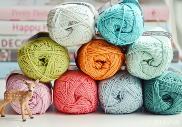luzia pimpinella | DIY | schöne pastel baumwollgarne  |  pretty paste cotton yarns