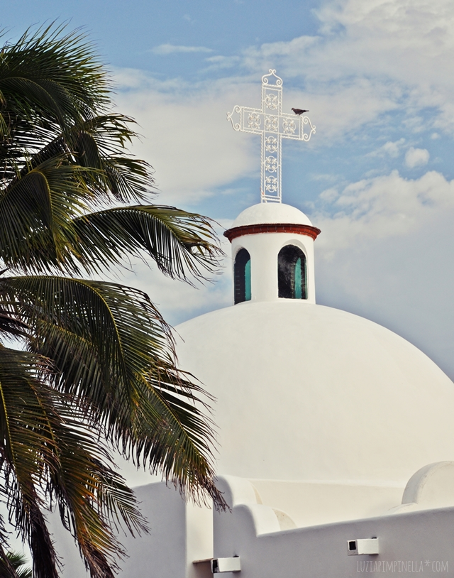 luzia pimpinella | travel mexico | kirche in playa del carmen