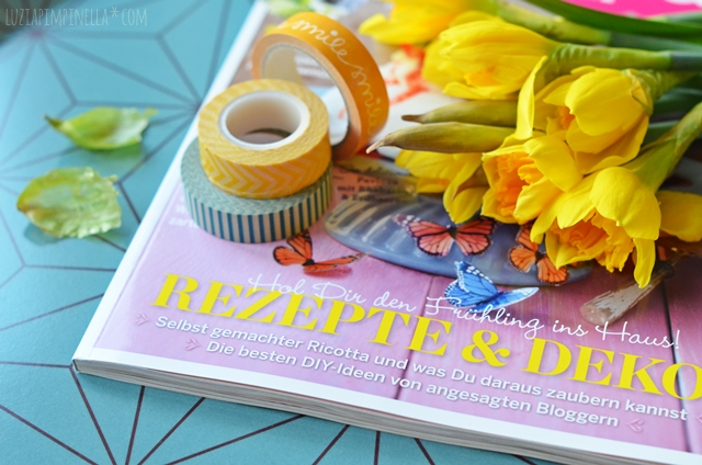 luzia pimpinella | presse | frühlings-DIY-feature in der sweet paul