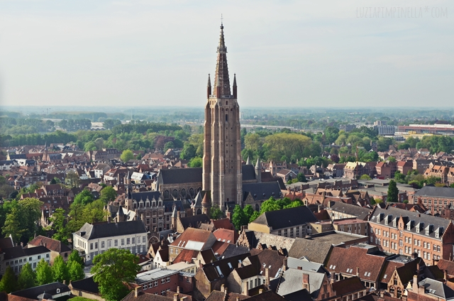 luzia pimpinella | travel |  brügge - belfried aussicht| bruges - belfry tower view