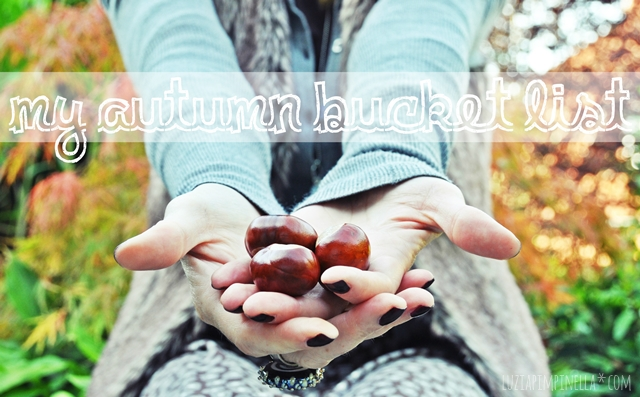 luzia pimpinella | herbst bucket list | autumn bucket list