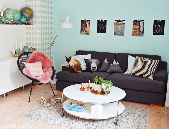 interior neues kleid f r 39 s olle ikea sofa selbstgen hte bergpanorama kissen deko f r einen. Black Bedroom Furniture Sets. Home Design Ideas