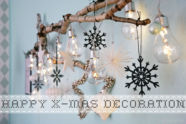Interior DIY | Weihnachtsdeko Mit Birkenzweig | X Mas Decor With Birch  Branch | Luzia