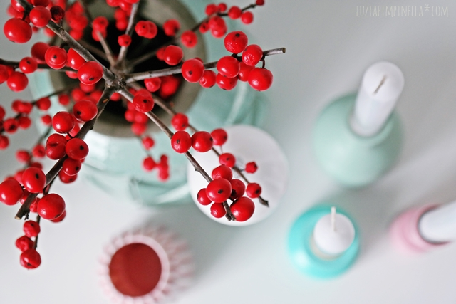 interior | weihnachts-dekoration mit ilex | x-mas decor with ilex | luzia pimpinella