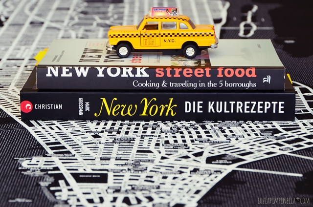 buch tipp food & travel | NEW YORK street food + die kulturrezepte | luziapimpinella.com