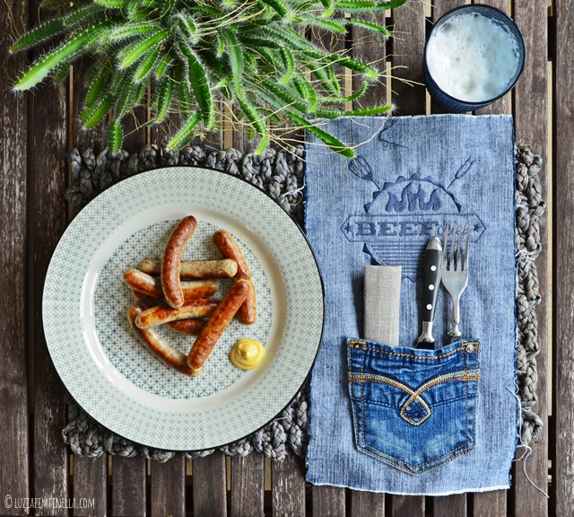 luzia pimpinella | grill DIY stickdatei - besteck-tischsets selber nähen | grill DIY embroidery - sewing handmade flatware placemats
