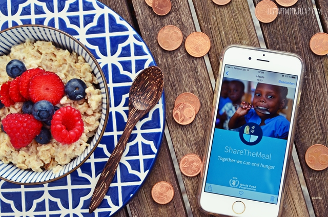 app tipp share the meal | gemeinsam gegen den hunger in der welt | together we can fight hunger in the world