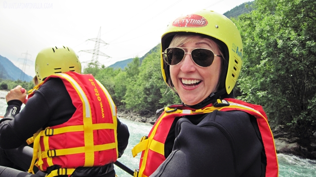 luzia pimpinella | travel | abenteuer in osttirol: rafting tour adventurepark ainet