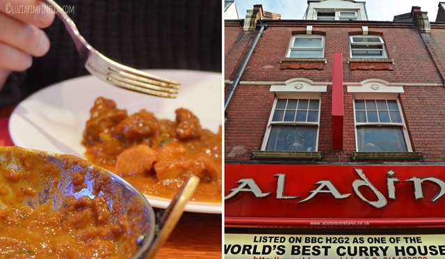 travel london | east end food tour - eating london - aladin curry, brick lane | ©luziapimpinella.com