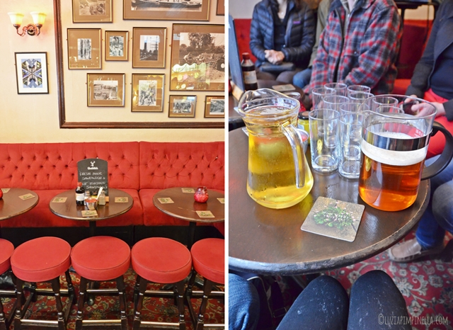 travel london | east end food tour - pub pride of spitalfields | ©luziapimpinella.com