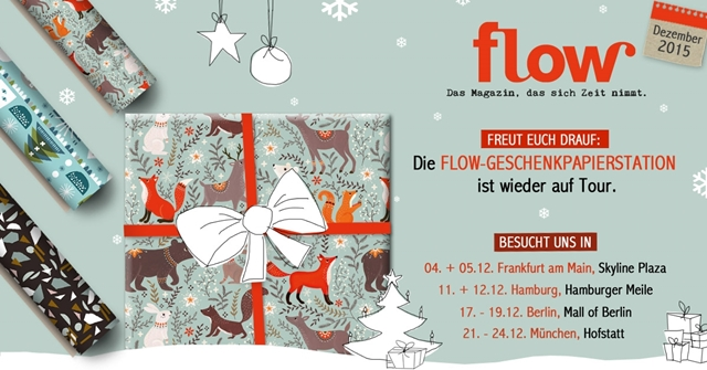 luzia pimpinella | save the date - FLOW geschenkpapier station