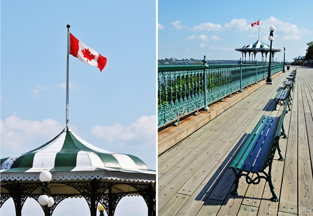 travel canada | sommertag in quebec city - terrace dufferin | luziapimpinella.com