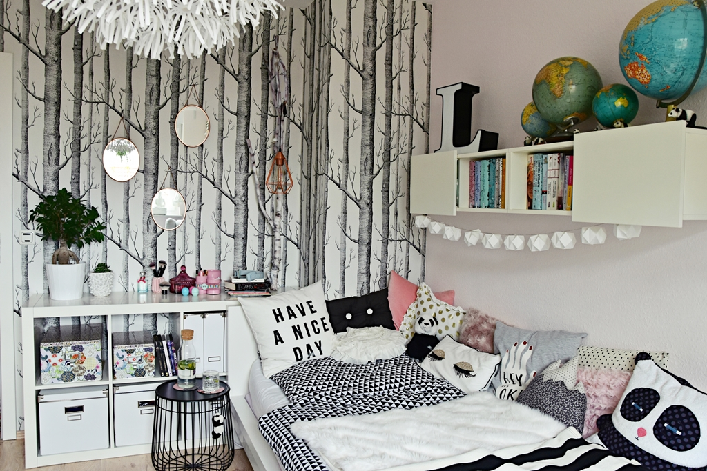 Ikea Flaxa Headboard Reviews ~ interior  teenager mädchen zimmer  teen room makeover