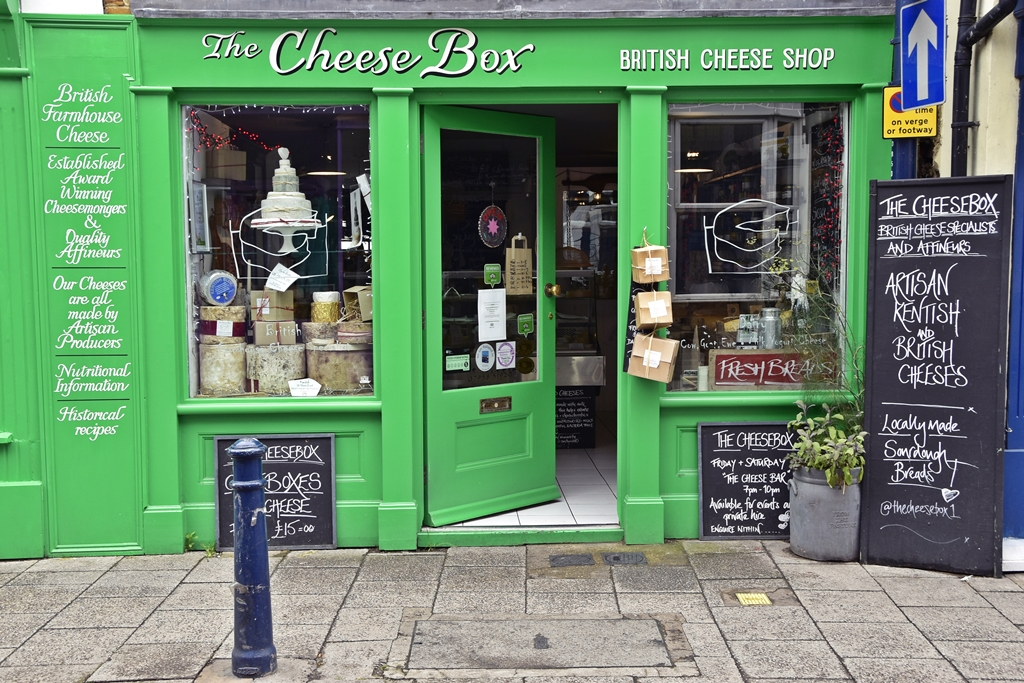 Südengland Roadtrip | Whitstable in Kent - Food Shopping Tipp: The Cheesebox | Travel with luzia pimpinella