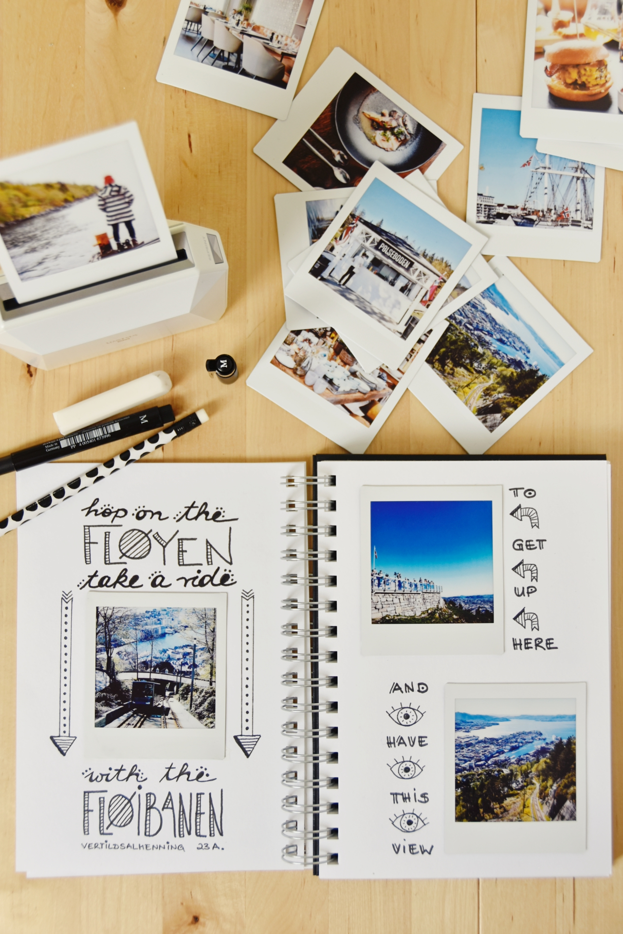 Mein DIY Weekend Travel Guide für Bergen in Norwegen & ein Reiseblogger Giveaway – Fujifilm Instax Smart Phone Printer Share SP-3 SQ {enthält Werbung} | luziapimpinella.com