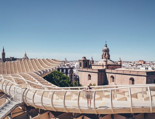 Frage-Antwort-Kolumne zur Selbstfindung - #fünffragenamfünften Link-Up - Fünf Fragen am Fünften No.16 im April 2019 | Travel - Sevilla Metropol Parasol Reisefotos | luziapimpinella.com